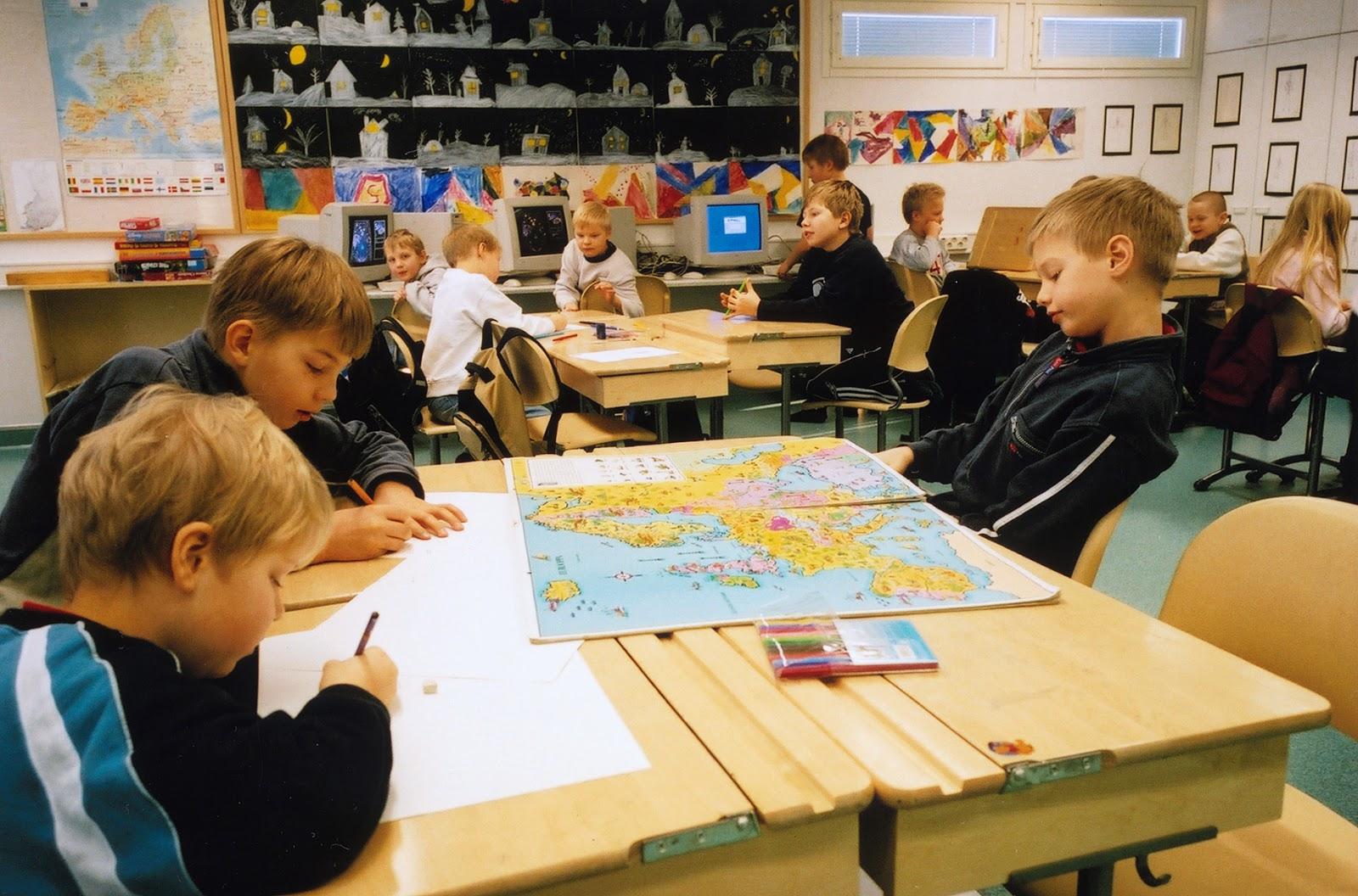 Finlandiya ilkokul eğitimi