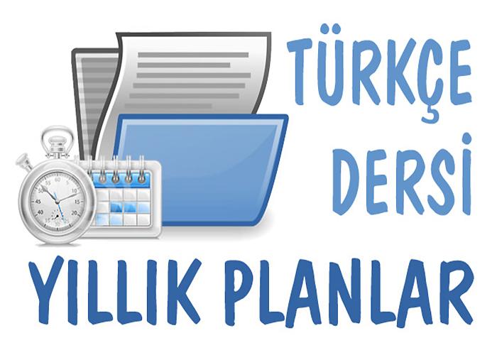 2017 - 2018 7.Sınıf Türkçe Dersi Yıllık Plan Örneği