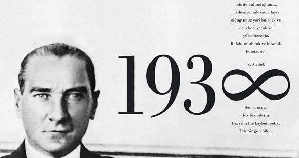 Atatürk'ü Anma Haftası Pano