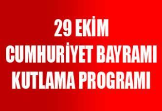 29 Ekim Cumhuriyet Bayramı Program Örnekleri