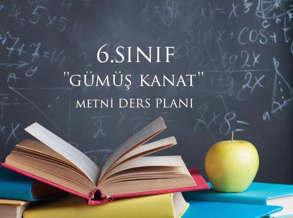'Gümüş Kanat' Metni Günlük plan 6.Sınıf