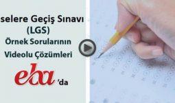 Lgs Aralık Ayı Soru Çözüm Vidyoları