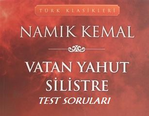Vatan Yahut Silistre Kitap Sınavı Test Soruları