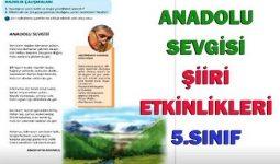 Anadolu Sevgisi Dinleme Ses Dosyası