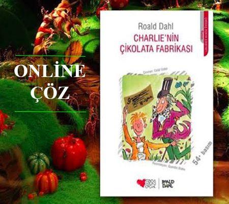 Charlienin Çikolata Fabrikası Kitap Kapağı