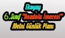 Ekoyay Yayınları Anadolu İmecesi