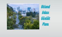 Okland Adası Ders Planı