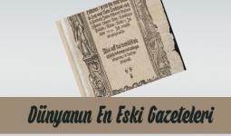 Dünyanın En Eski Gazetesi