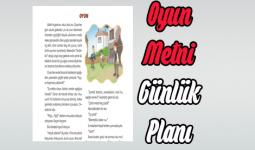 Oyun Metni Ders Planı