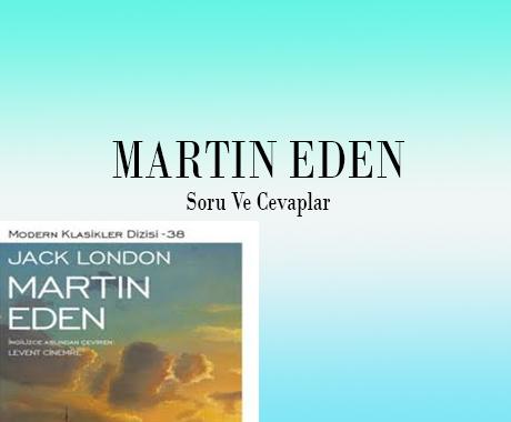 Martin Eden Kitap Soruları