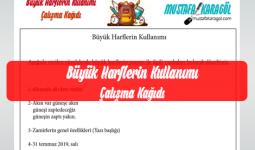 Buyuk Harflerin Kullanimi Calisma Sayfasi Mustafa Karagol