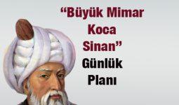 Büyük Mimar Koca Sinan Metni