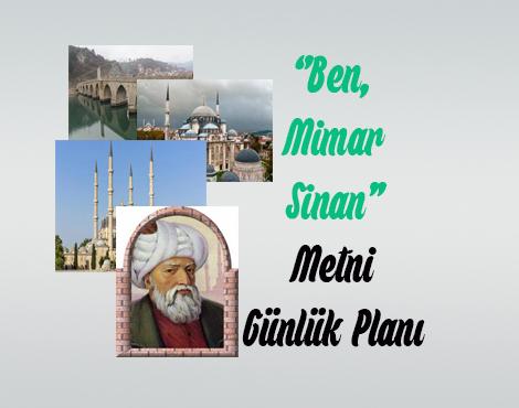 Ben, Mimar Sinan