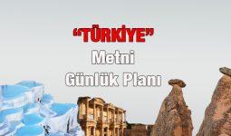Türkiye Metni