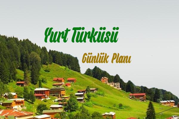 Yurt Türküsü Metni
