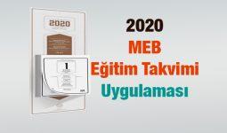 2020 Eğitim Takvimi