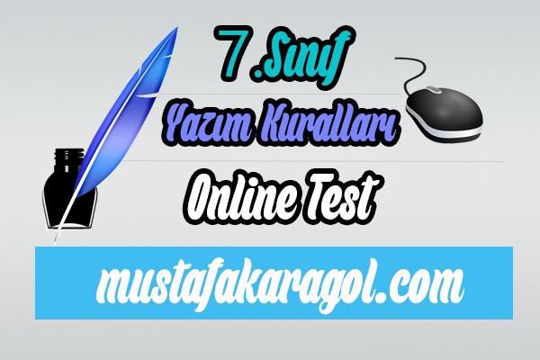 Yazım Kuralları Online Testi