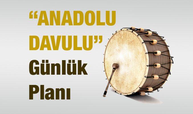 Anadolu Davulu Metni Günlük Planı