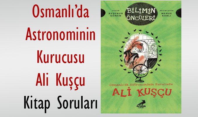 Ali Kuşçu Kitap Sınavı Soruları