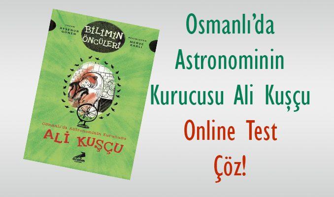 Ali Kuşçu Online Soru Çöz