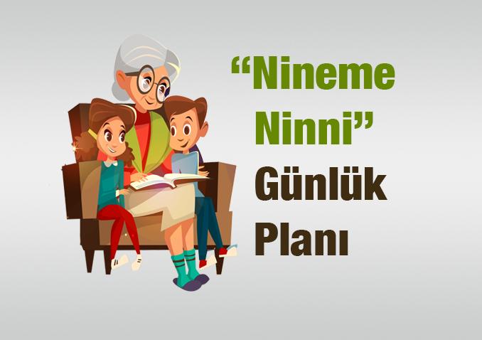 Nineme Ninni Günlük Ders Planı