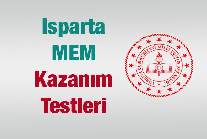 Isparta Milli Eğitim Kazanım Testleri