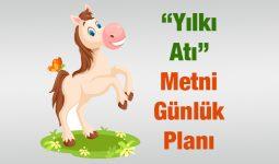 Yılkı Atı Metni Günlük Planı