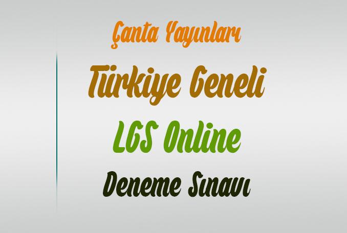 Çanta Yayınları 8.Sınıf LGS Online Deneme Sözel ve Sayısal