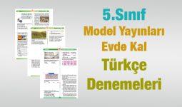 Türkçe 5.Sınıf Evde Kal Denemesi