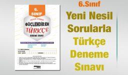 Yeni Nesil Sorularla Türkçe Deneme Sınavı