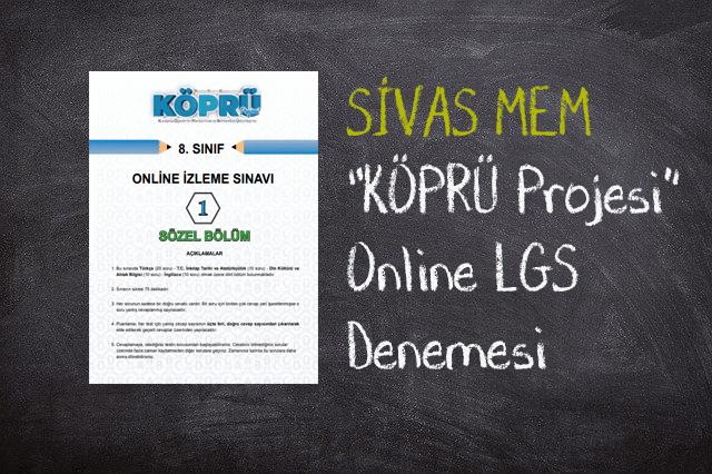 Köprü Projesi LGS Online Deneme